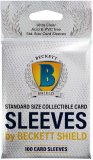 "Beckett Shield: Sleeves Standard 100ct / Protecteur de type ""Sleeve"" pour Carte Standard"