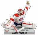 "2016/17 - Premium Sports Artifacts - Signatures Series - 6"" Carey Price"