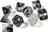 Sirius Dice: Set de 7 dés - Trèfles / Clubs Dice Set (d20 Suppl. en Bonus)