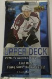 2016-17 Upper Deck Series 2 - Hobby - Paquets