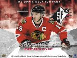 2016/17 Upper Deck SPX Hockey - Boite de 4 paquets